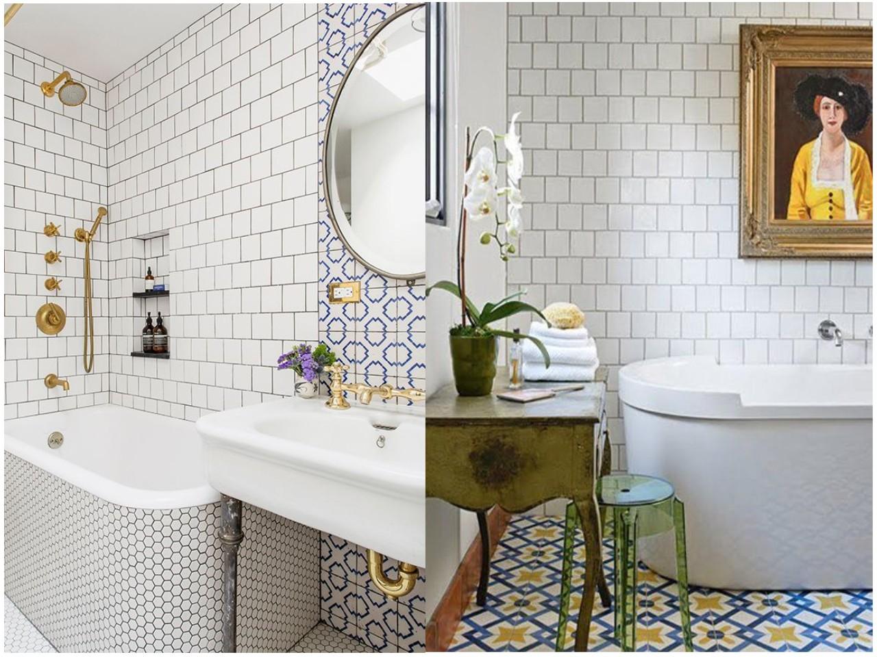 8 ideas trending para decorar ba os con estilo - Baldosas hexagonales ...