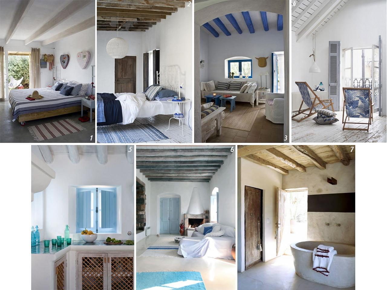 7cd23dd511f93 Decoración de casas de playa con aires mediterráneos