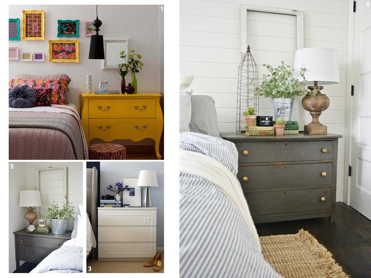 Una cajonera y muchos usos para decorar con c modas - Mesas para dormitorio ...