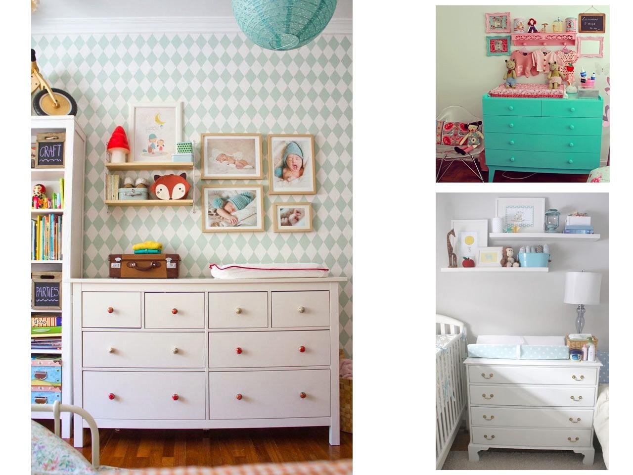 Una cajonera y muchos usos para decorar con c modas - Comodas para habitacion ...