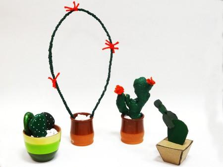 manualidades cactus