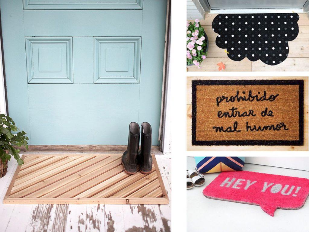 Decoración de recibidores modernos: alfombras
