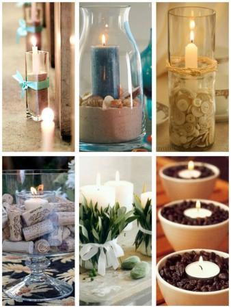 Cómo decorar con velas