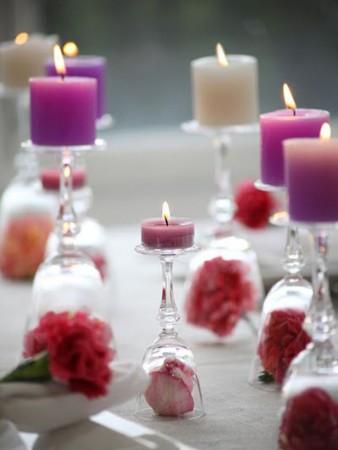 Ejemplos de decoración con velas