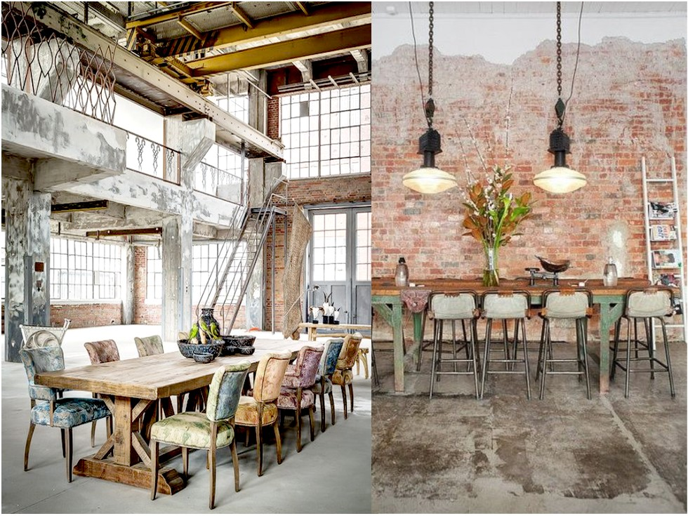 6 claves para una decoraci n vintage industrial que te for Decoracion industrial vintage
