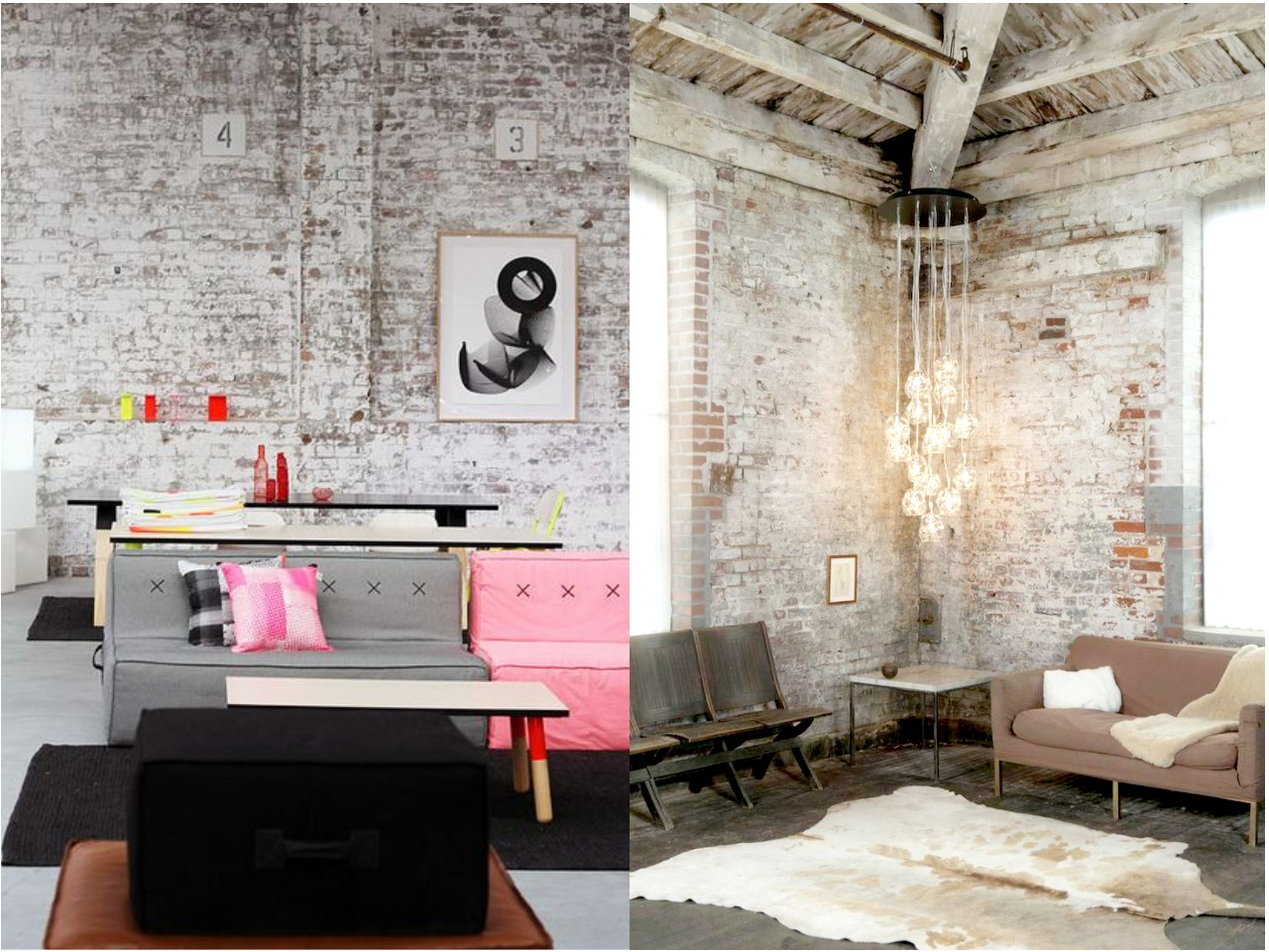 6 claves para una decoraci n vintage industrial que te - Decoraciones para la pared ...
