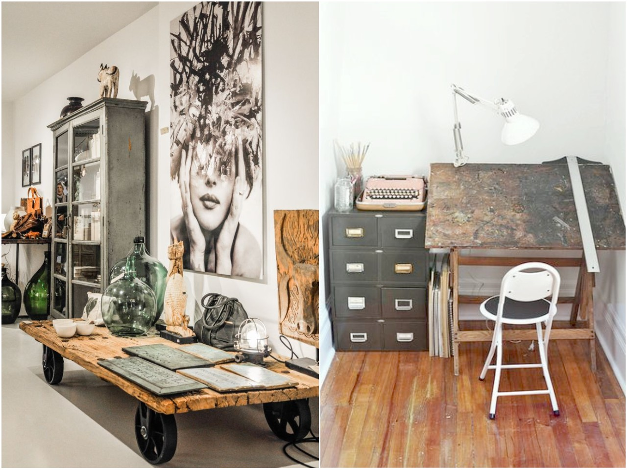 6 claves para una decoraci n vintage industrial que te - Decoracion industrial vintage ...