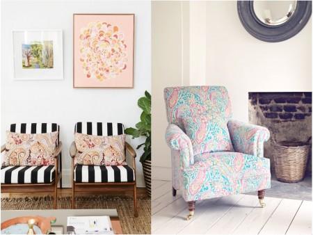 Estampados originales: sofás