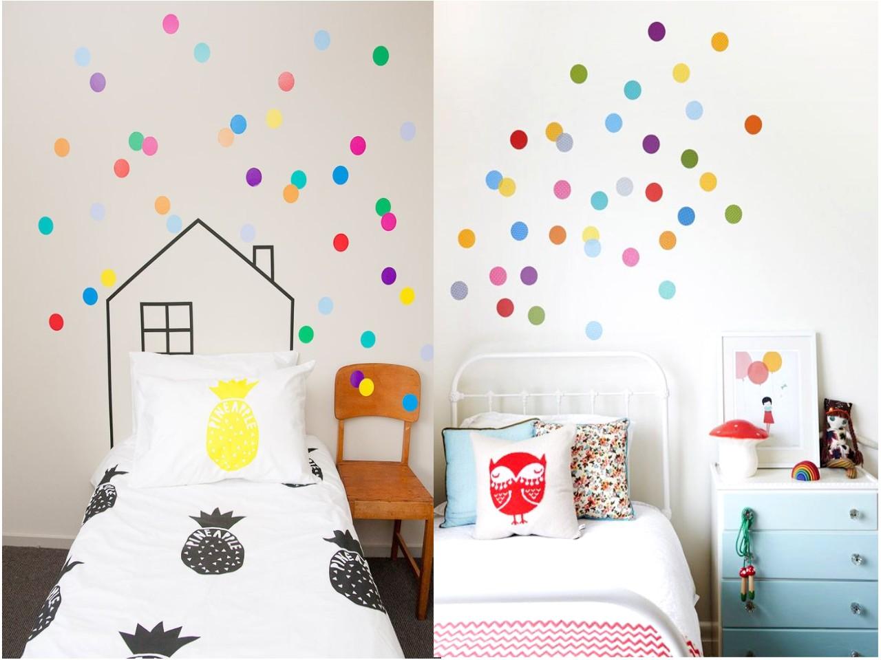 5 estampados originales que no debes perder de vista - Pintura habitaciones infantiles ...