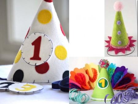 Decorar fiestas de cumpleaños con fieltro
