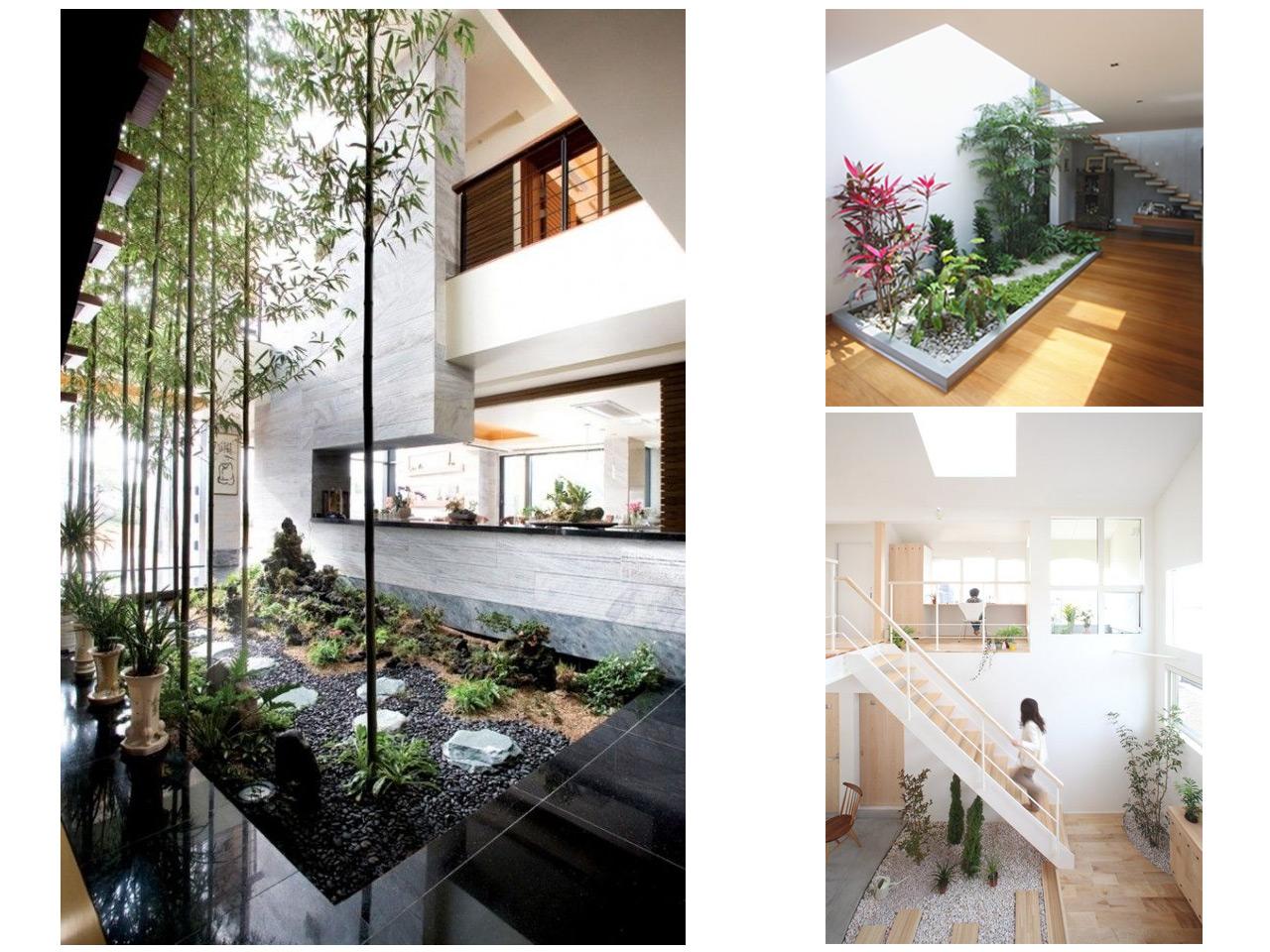 Tus 7 inspiraciones de decoraci n de terrazas interiores for Cerramientos para patios internos