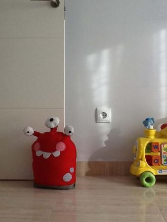 Decoración de habitaciones infantiles con fieltro