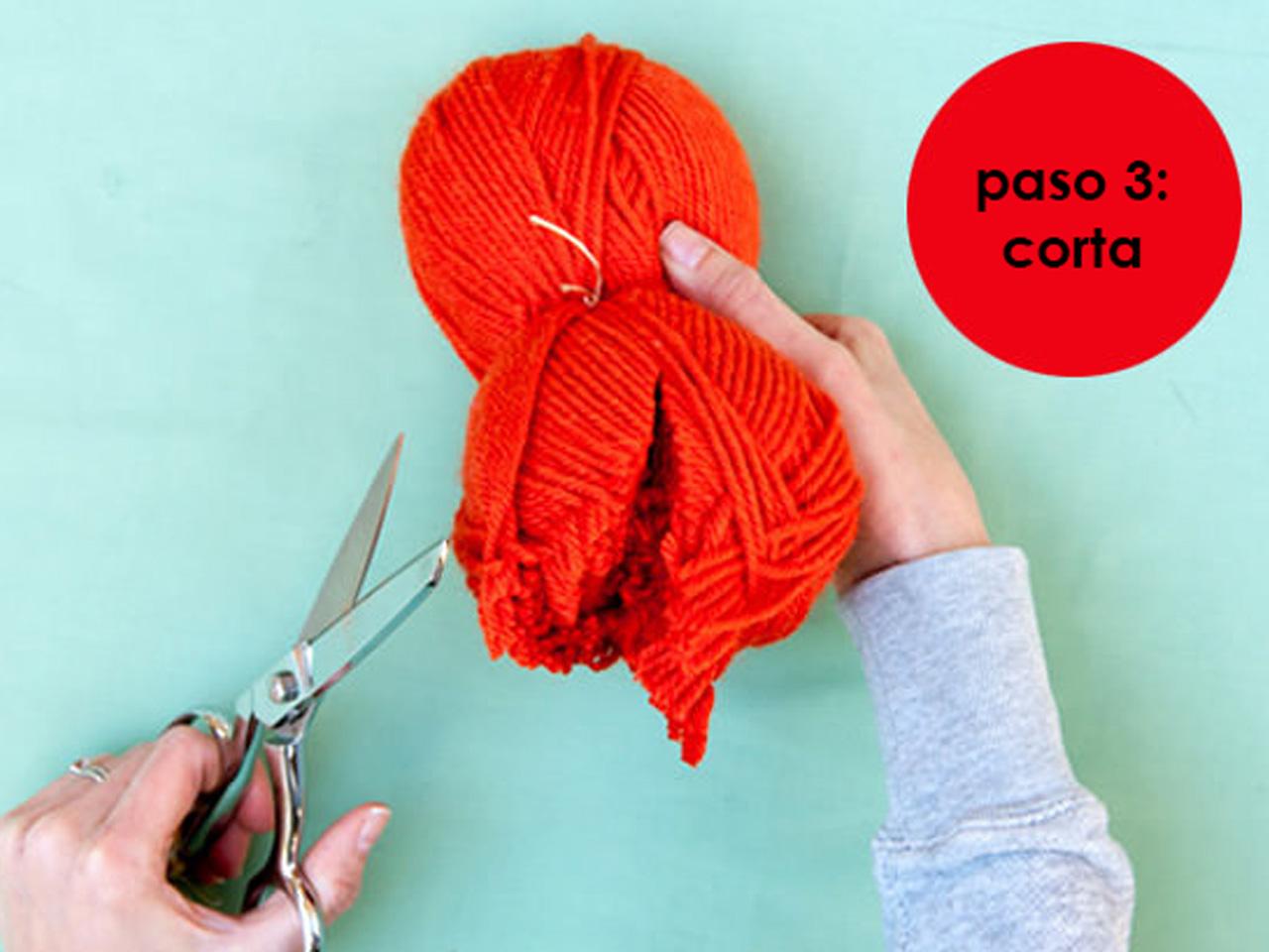 7 súper ideas para hacer pompones de lana para decorar aad6df9c4e65