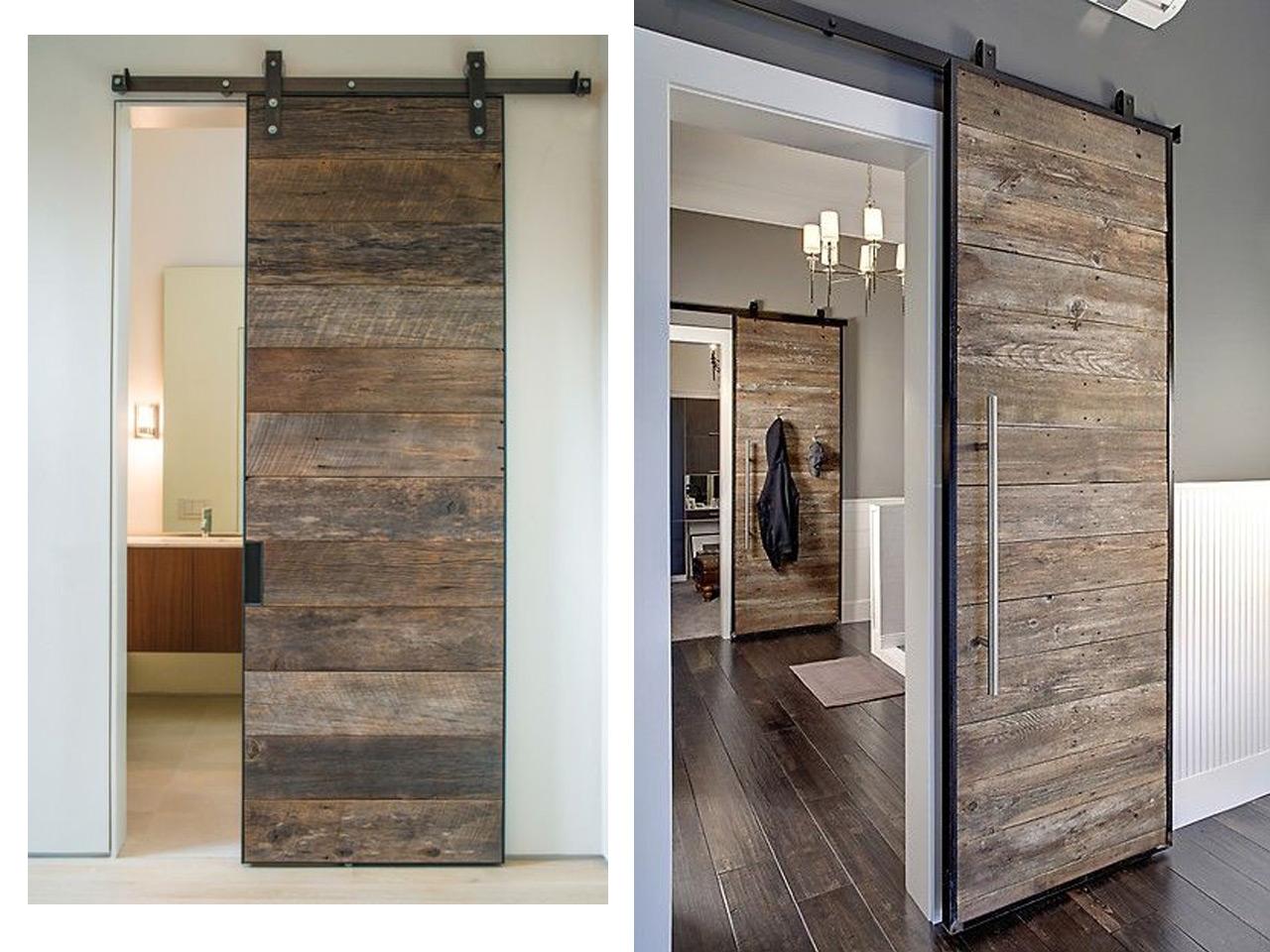 7 buenos y tiles consejos para ba os de estilo industrial for Puertas para bano exterior