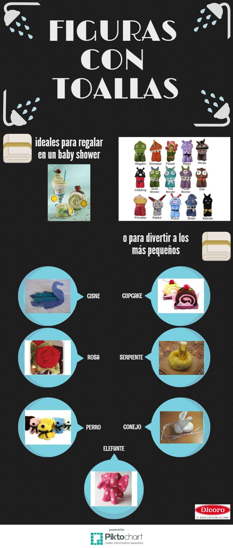 como hacer figuras con toallas paso a paso (infografia)