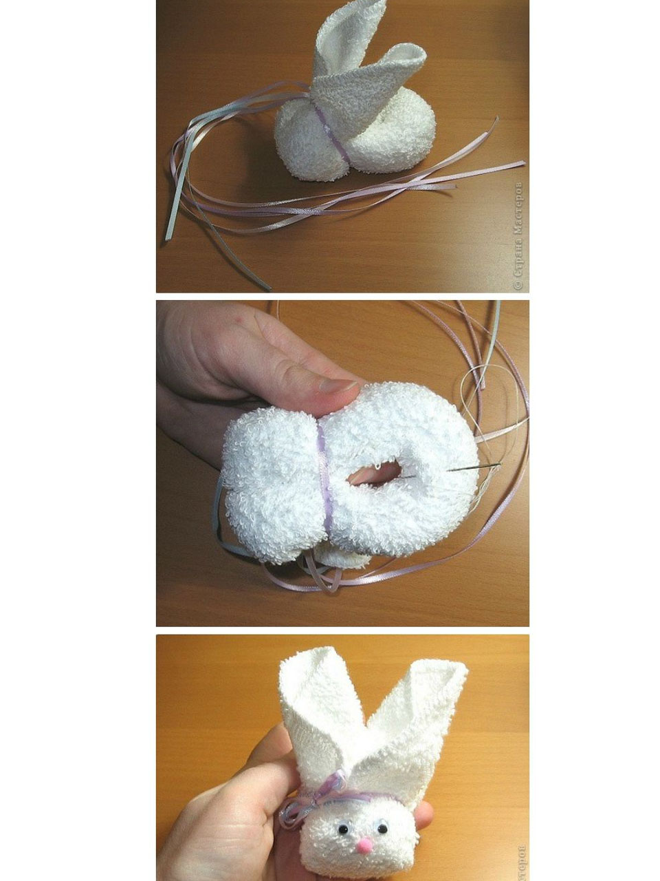 Como Hacer Figuras Con Toallas Paso A Paso - Decoracion-con-toallas