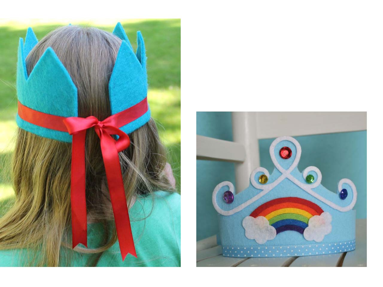 12 manualidades molonas de decoraci n infantil con fieltro - Manualidades para hacer en un cumpleanos ...