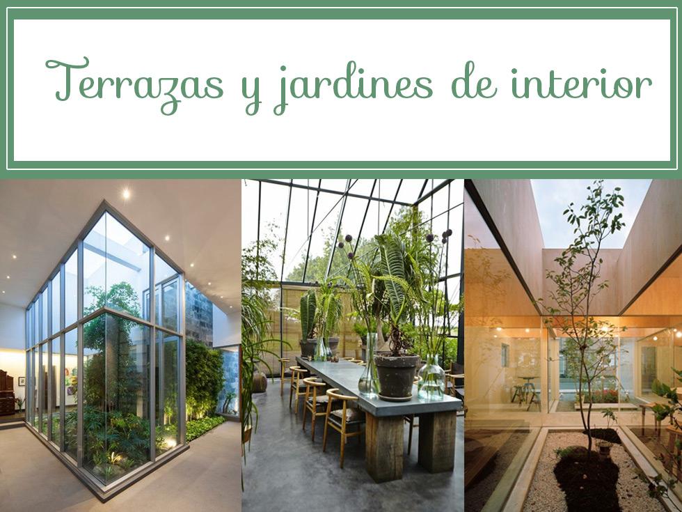 7 ideas de decoración de terrazas interiores