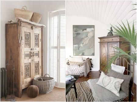 Dormitorios exóticos estilo colonial