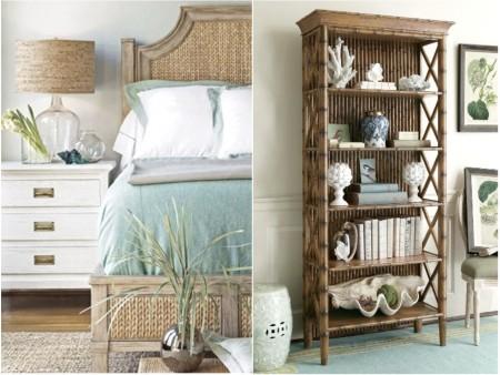 Decoración colonial de dormitorios