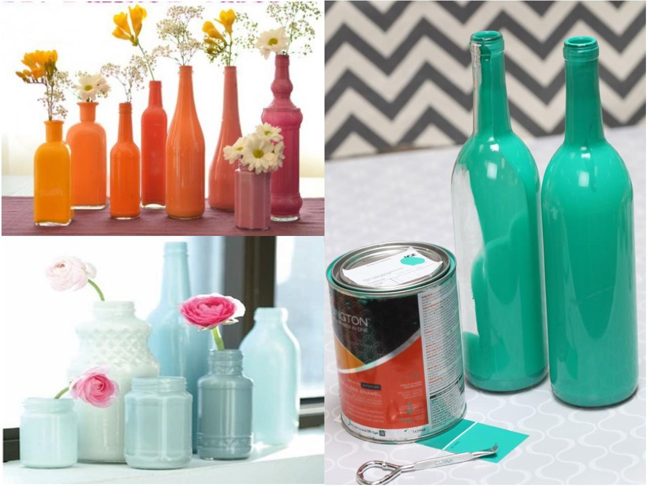 6 mejores y geniales ideas para reciclar botellas de vidrio for Que es decoracion