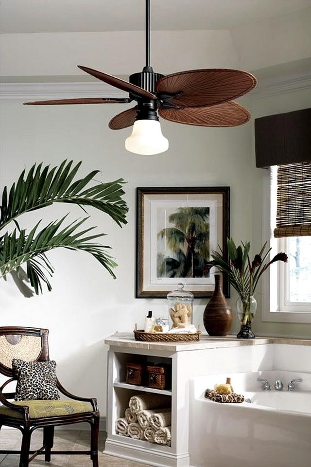 Consigue un dormitorio de estilo colonial en 7 pasos - Aspas para ventiladores ...