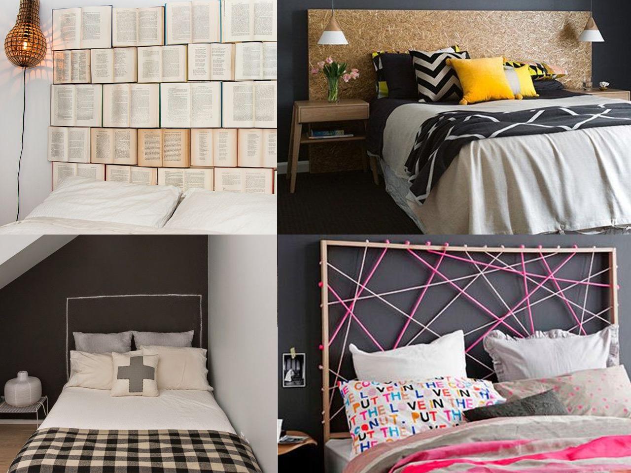 Decoraci n de cabeceros de cama para sorprender - Ideas cabecero cama originales ...