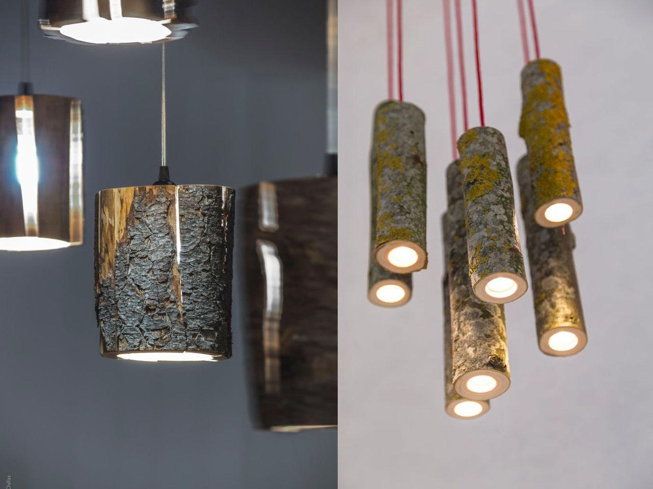 15 ideas molonas y r sticas de decoraci n con troncos de for Como tratar un tronco de madera para decoracion