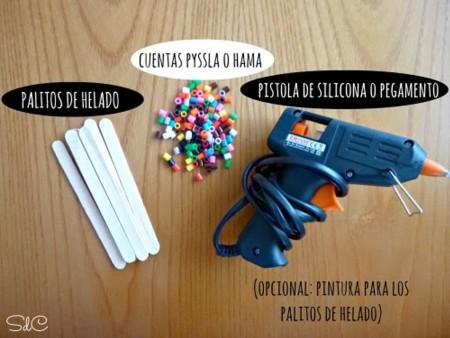 cómo hacer puntos de libro con hama beads
