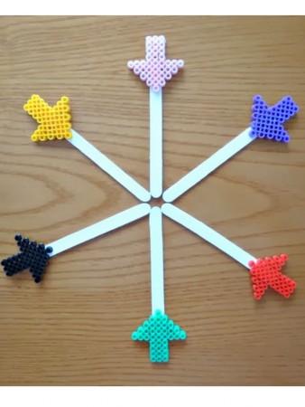 punto de libro de hama beads
