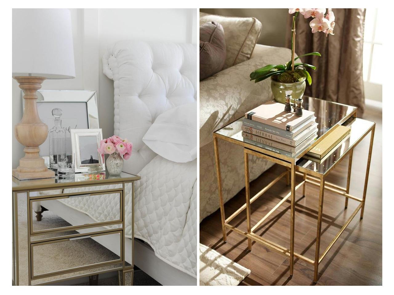 C Mo Decorar Con Espejos Siguiendo Las Ltimas Tendencias # Muebles Efecto Espejo