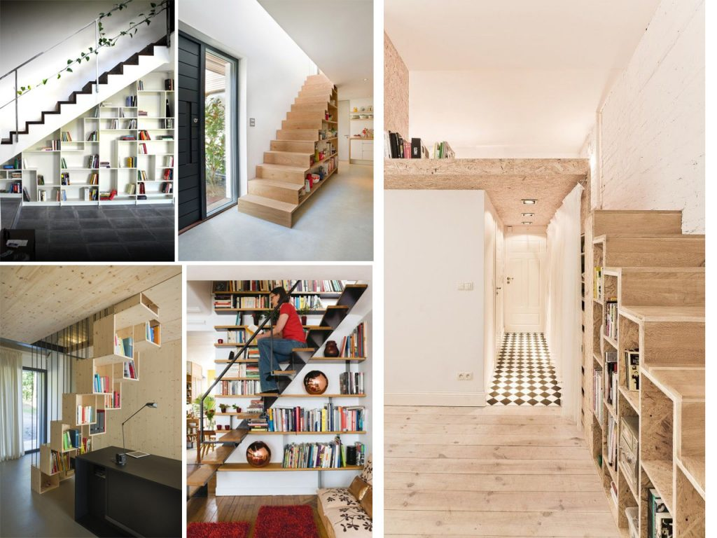 aprovechar espacios debajo de las escaleras