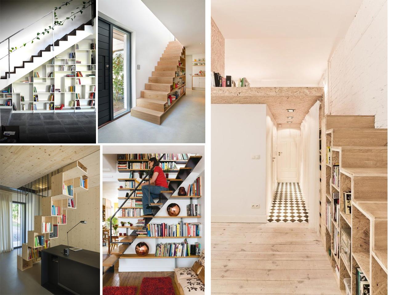 9 ideas de c mo aprovechar espacios debajo de escaleras Casa y ideas