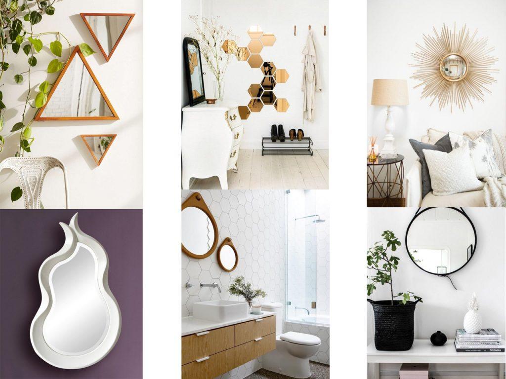 ideas de decoración con espejos