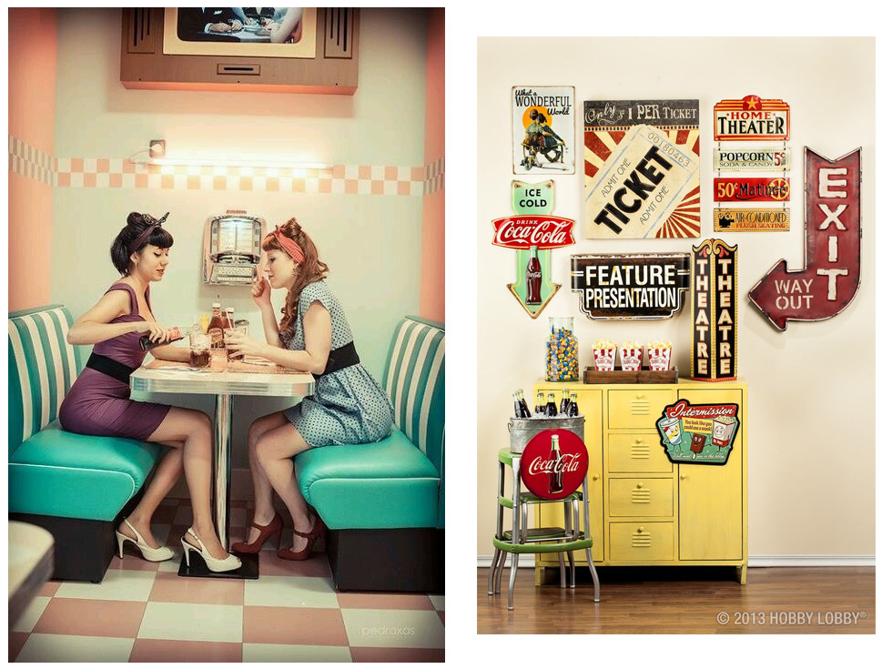 Las 6 claves para una decoraci n vintage americana for Decoracion piso estilo retro