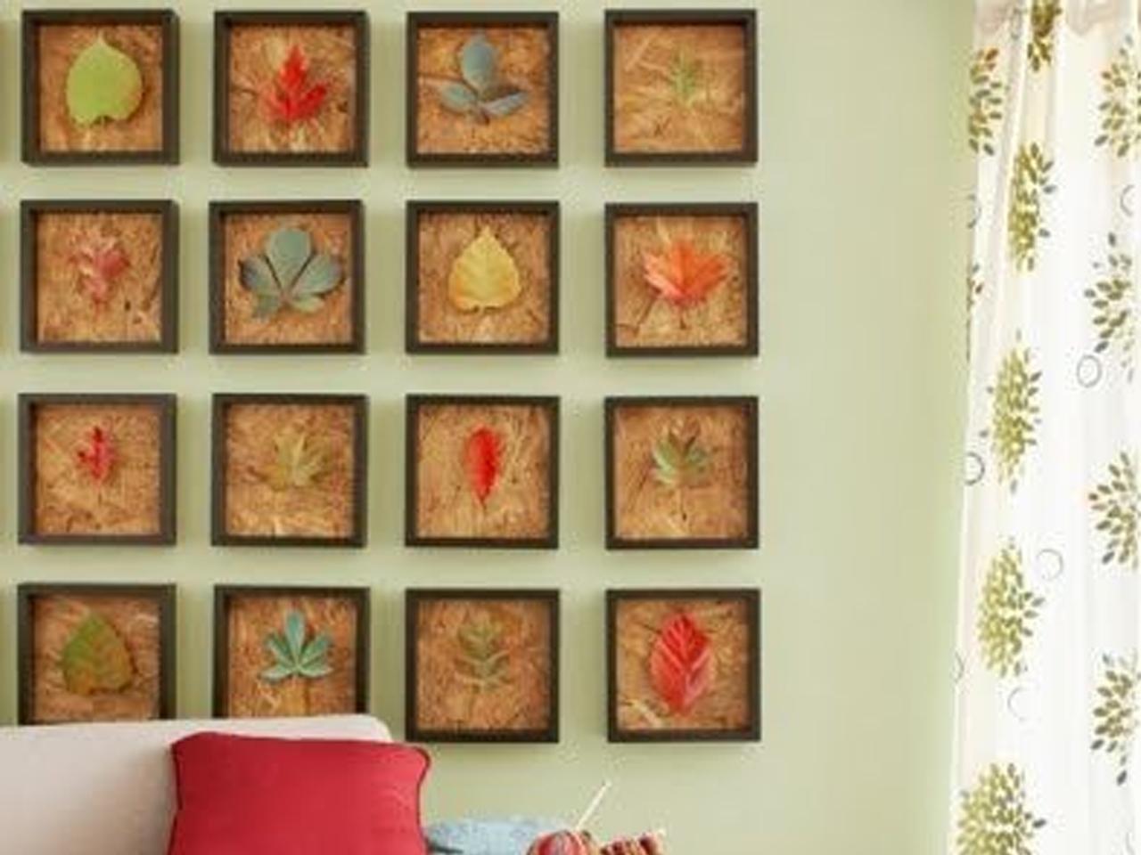 Decorar con hojas secas las 9 mejores ideas - Ideas para paredes ...
