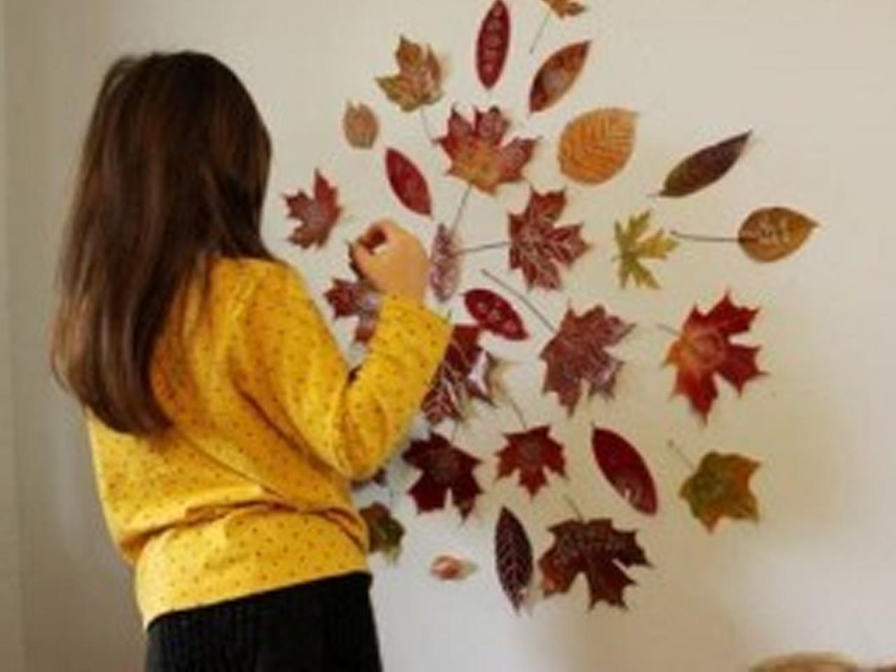 Decorar con hojas secas las 9 mejores ideas for Decoracion con hojas secas
