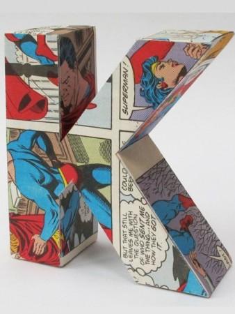 letras infantiles para decorar con comics