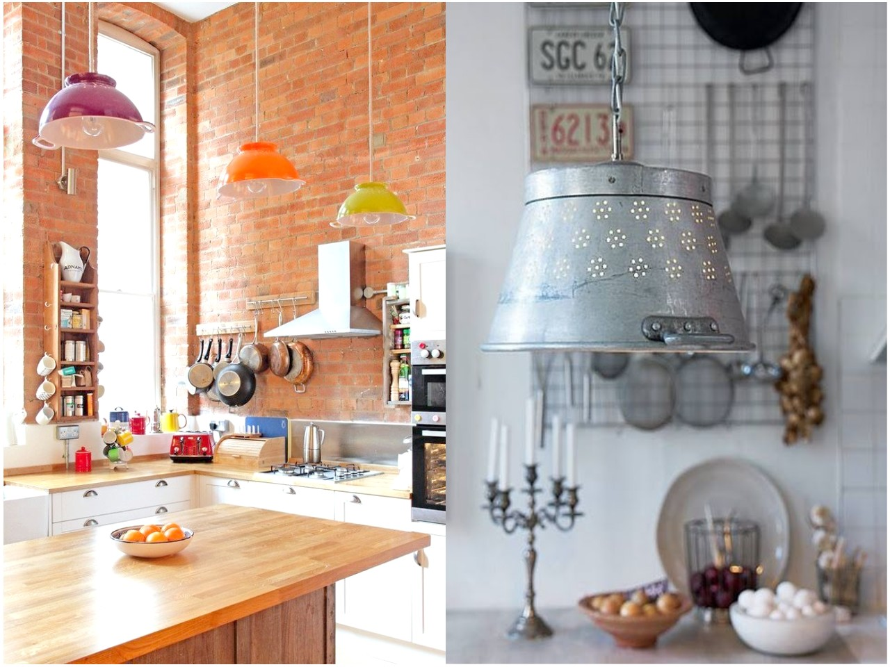 10 Ideas originales de reciclar para decorar con lámparas