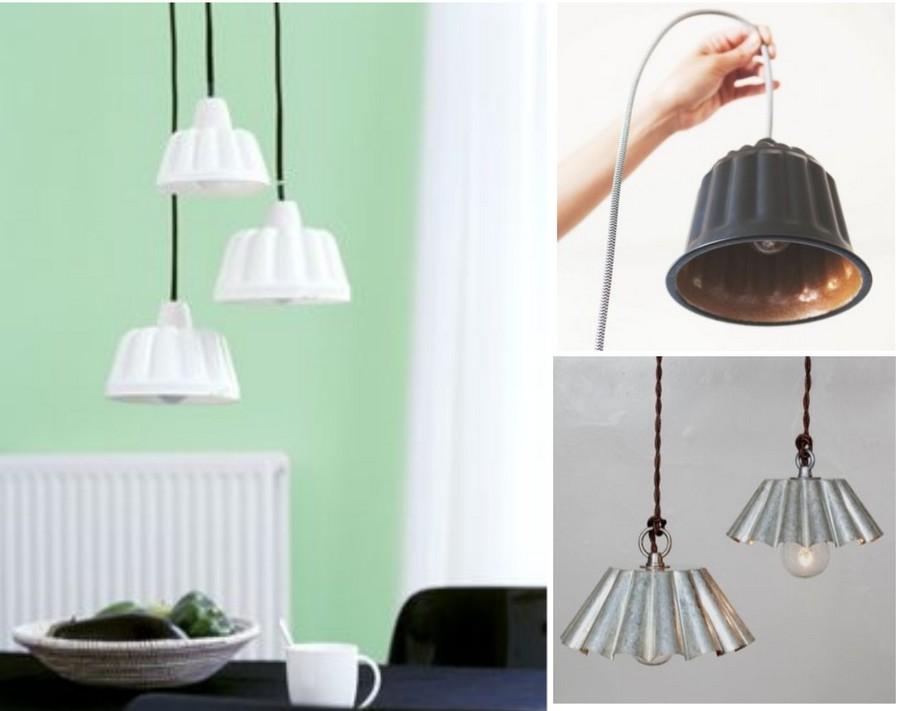 10 ideas originales de reciclar para decorar con l mparas - Lamparas originales recicladas ...