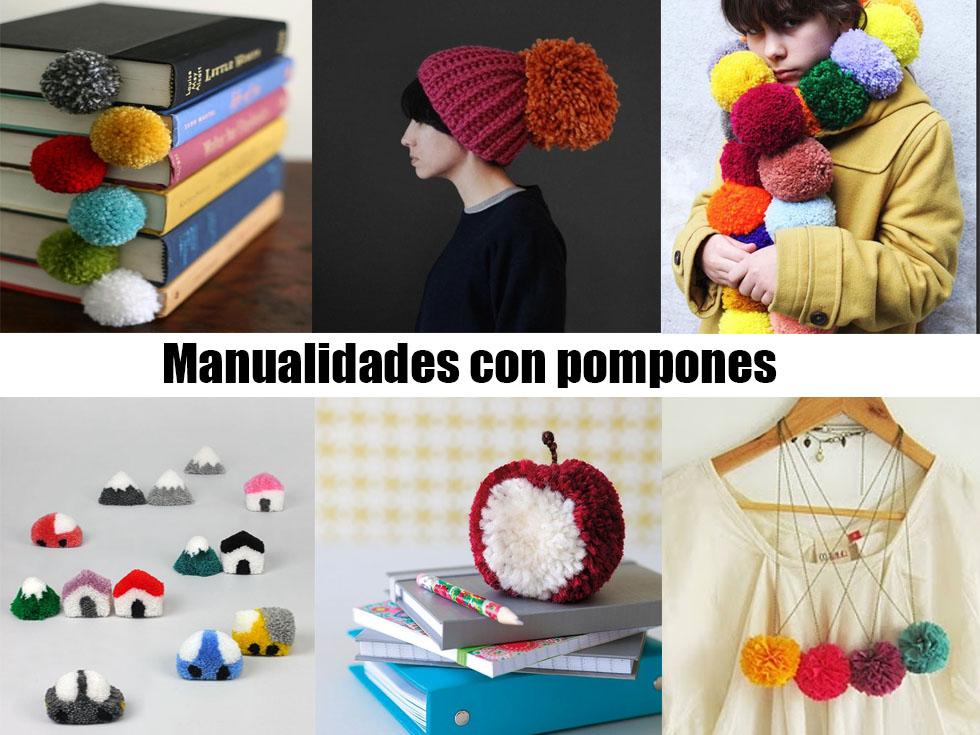 De Pompones Más Con 20 Manualidades 0Pk8wOn