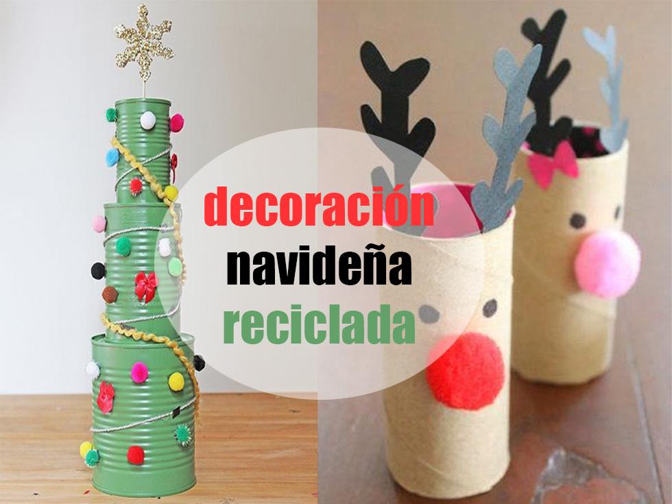 11 Divertidos ejemplos de decoracin navidea reciclada