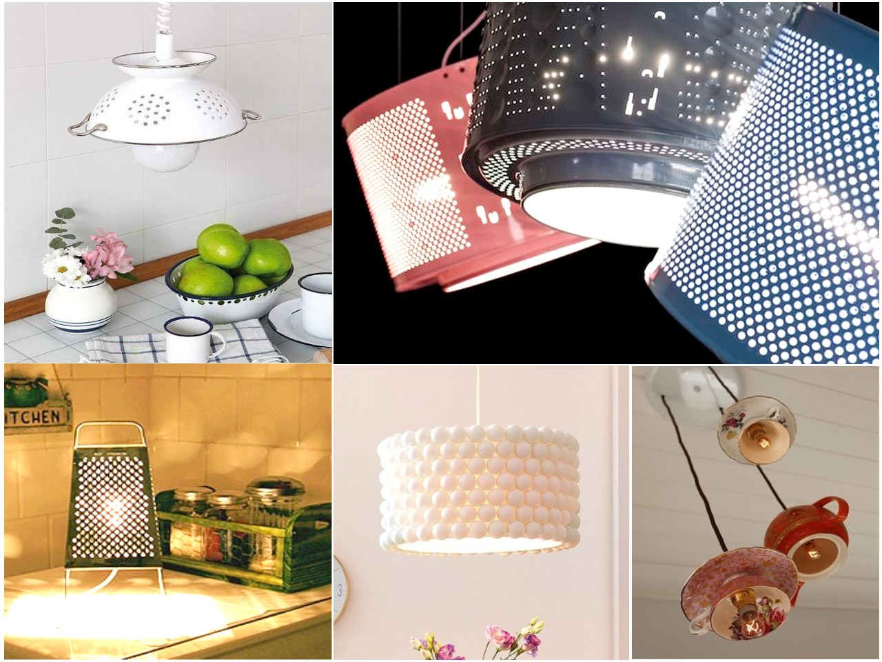 10 ideas originales de reciclar para decorar con l mparas - Articulos decoracion ...