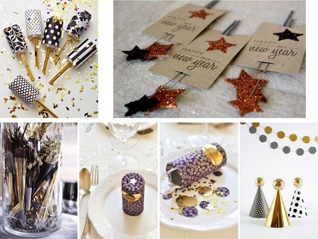 decoración para año nuevo low cost