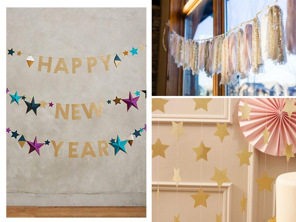 decoracion de año nuevo low cost