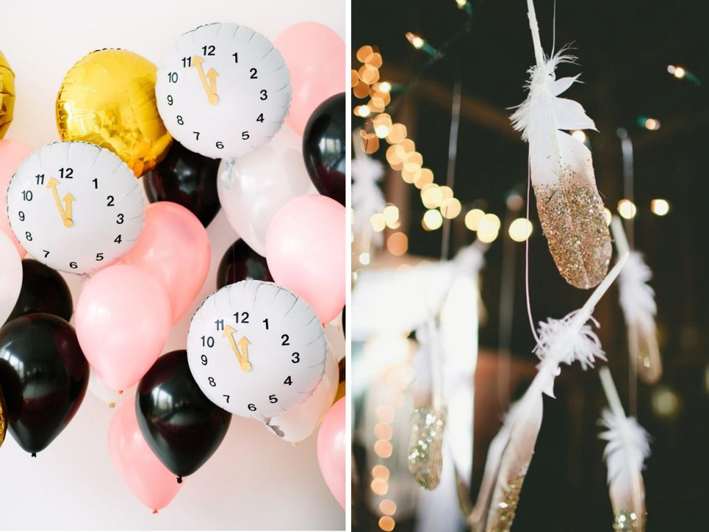 decoracion para año nuevo low cost