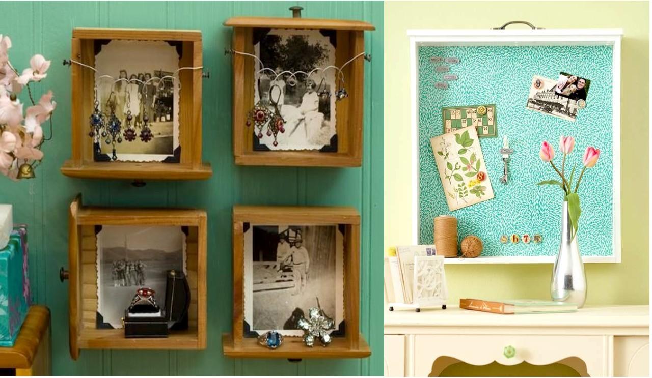 9 increíbles propuestas de decoración con madera reciclada