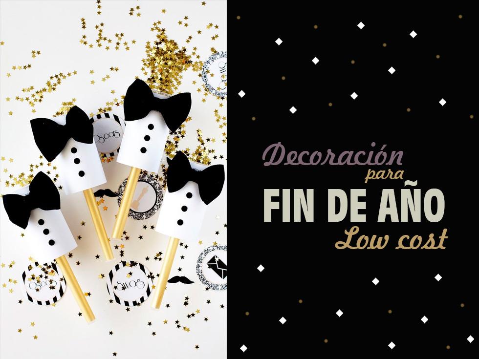 6 Ideas brillantes de decoración para año nuevo low cost