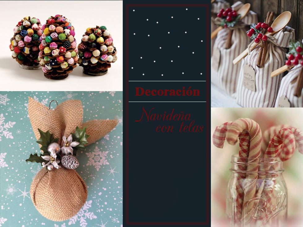 45 ideas para una decoración Navideña con telas