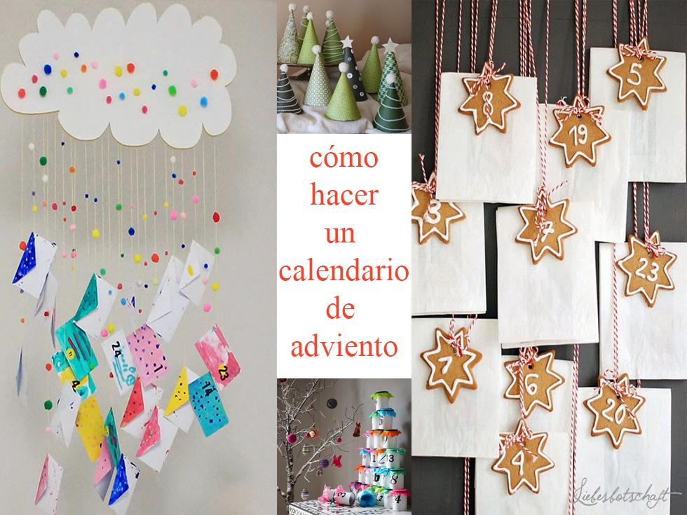 Calendario Adviento Infantil.Como Hacer Un Calendario De Adviento En 10 Ejemplos